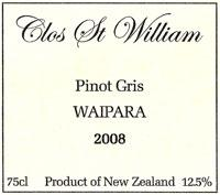 Clos St William Wines