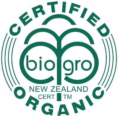 Certified Bio-dynamic and Organic by Bio Gro New Zealand