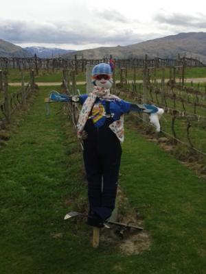 Scarecrows and Sustainability at Carrick